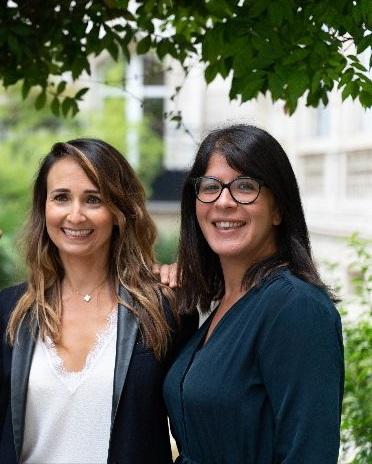 Les associées de Victoire Avocats : Sara Monroig et Marylaure Méolans.