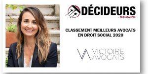 Classement Décideurs 2020 Marylaure Méolans