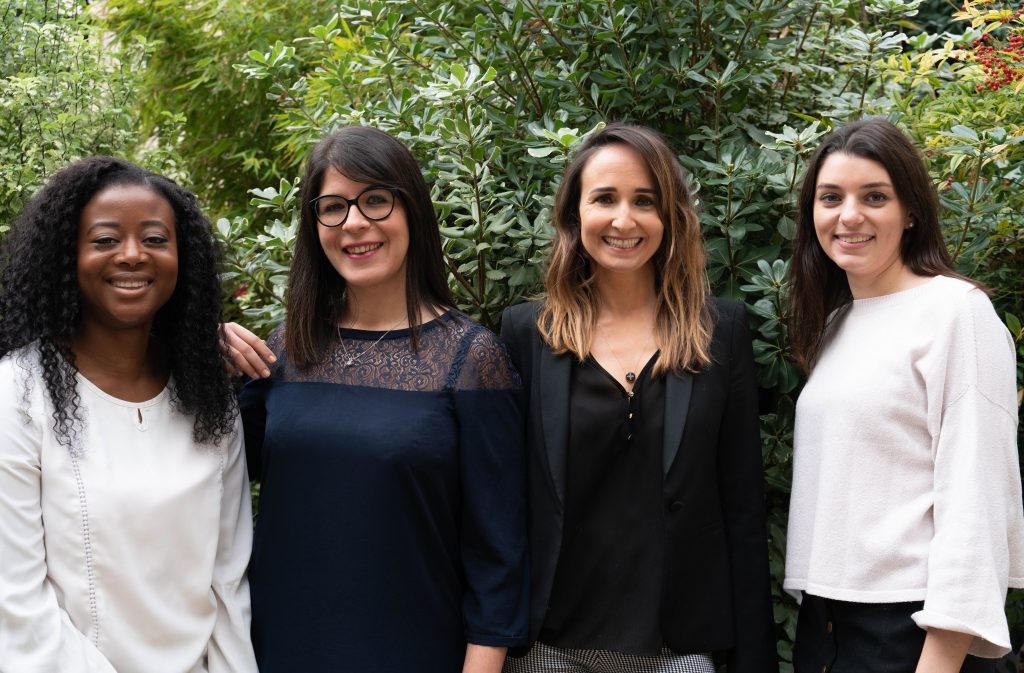 Victoire Avocats : Claire Hlomador, Sara Monroig, Marylaure Méolans, Marion Locuratolo.
