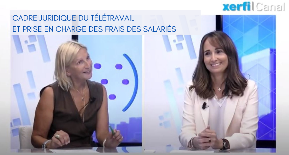 Marylaure Meolans interview Xerfi télétravail