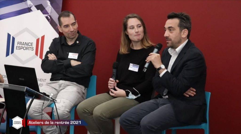 Atelier rentrée 2021 de l'association France Esports